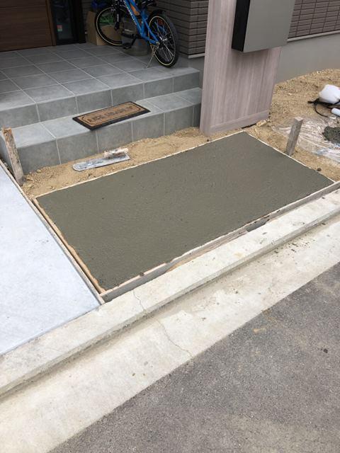 コンクリート 打設