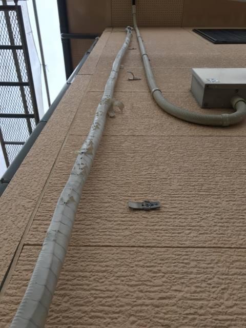 エアコン 配管ホースカバー