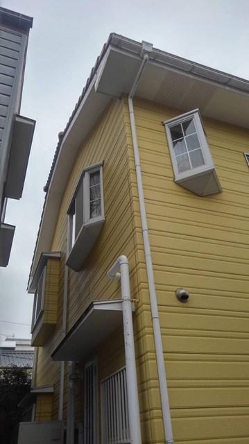 光藤邸 外壁塗装工事 裏