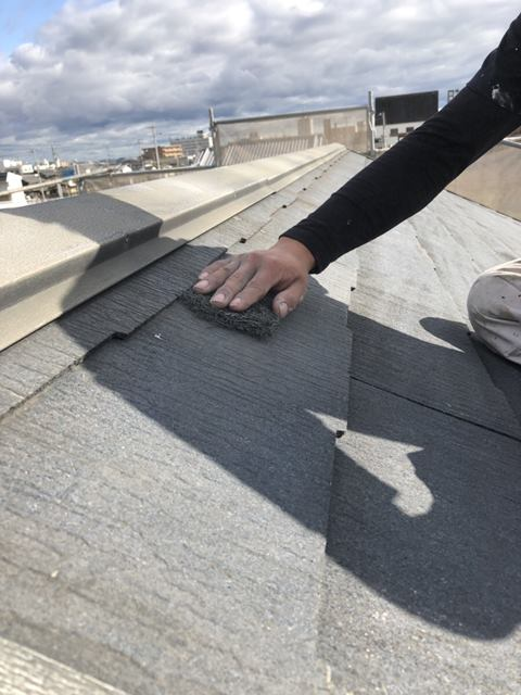 屋根塗装 ケレン