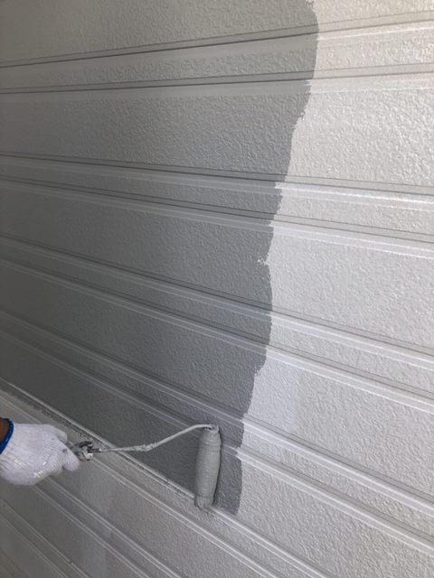 外壁中塗り ローラー