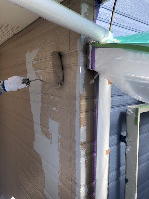 外壁上塗り ローラー