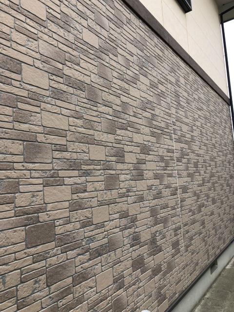 クリヤー塗装の外壁