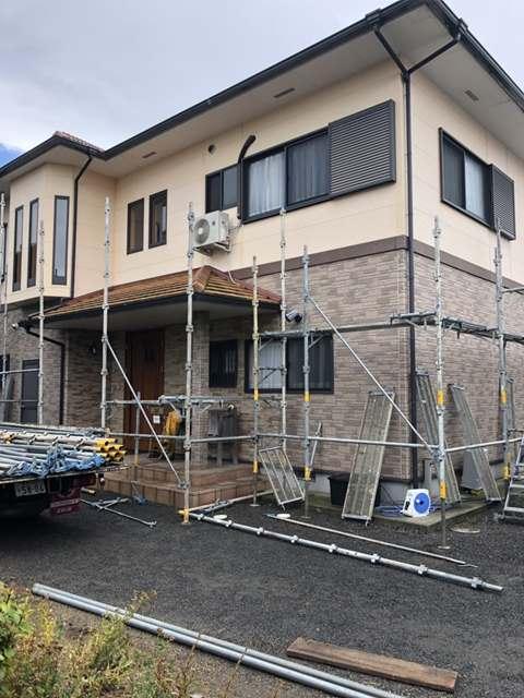 足場組立工事 外壁塗装